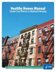 Healthy Homes Manual: Smoke-Free Policies in Multiunit