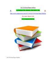 LIT 210 Final Paper Outline/ SNAPTUTORIAL