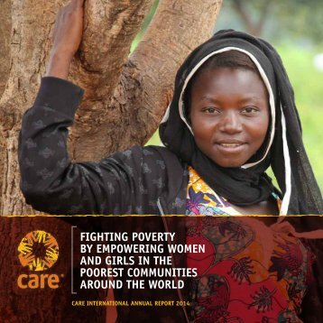 AND GIRLS IN THE POOREST COMMUNITIES AROUND THE WORLD