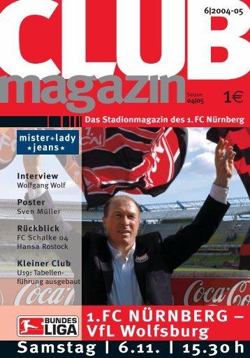 Hält die Abwehr dem Fantipp stand? - 1. FC Nürnberg
