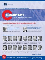 Kommt der Aufschwung für die Immobilienwirtschaft 2011? - BFW ...