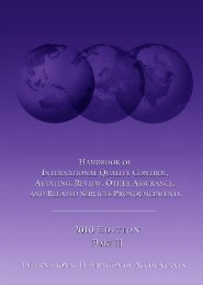Handbook of International Quality Control, Auditing, Review ... - ABWA