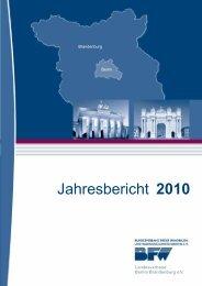 Jahresbericht 2010 - BFW Bundesverband Freier Immobilien