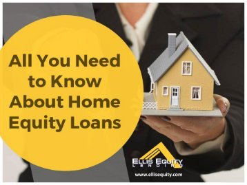 A Guide on Home Equity Loan