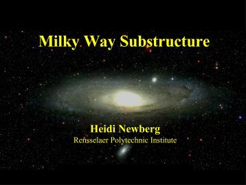 Milky Way Substructure