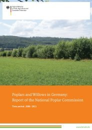 Poplars and Willows in Germany: Report of the National ... - BMELV