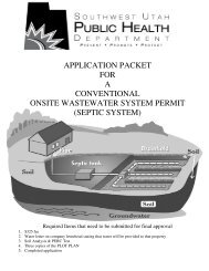 CONVENTIONAL ONSITE WASTEWATER SYSTEM PERMIT (SEPTIC SYSTEM)