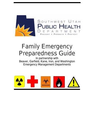 Family Emergency Preparedness Guide