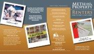 Renter Brochure - Southwest Utah Public Health Department
