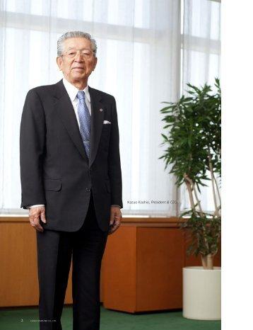 Kazuo Kashio President & CEO