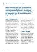 Casio Corporate Report - Page 4