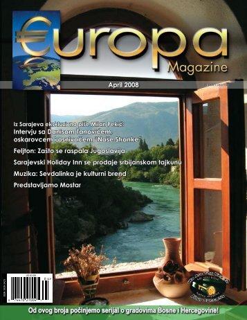 Iz Sarajeva ekskluzivno piše Milan Pekić - Europa Magazine ...