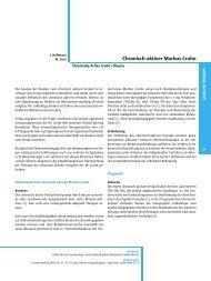 Chronisch-aktiver Morbus Crohn - DGVS