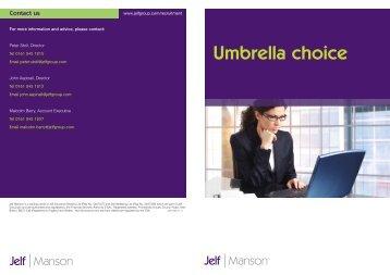 Umbrella choice