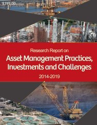 Asset Management Practices Investments and Challenges