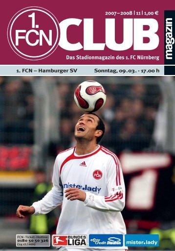 """Klein- falz auf Tuchfühlung mit Clubstars """"Eckes"""" - 1. FC Nürnberg"""