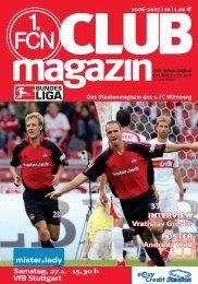 INTERVIEW Vratislav Gresko POSTER Andreas ... - 1. FC Nürnberg