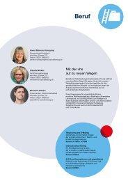 Webmagazin vhs AB Herbst 2015: Beruf