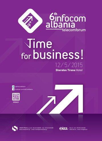 6th Infocom Albania - Telecomforum