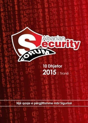 Albania Security Forum (Al)