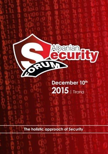 Albania Security Forum (En)