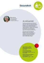 Webmagazin vhs AB Herbst 2015: Gesundheit