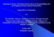 Running for Peace: The Role of Peace Races in ... - IIPT