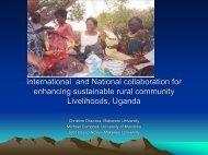 Livelihoods Uganda