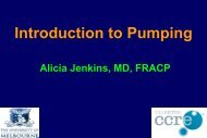 Introduction to Pumping