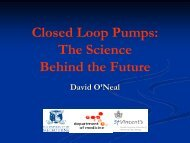 Closed Loop Pumps The Science Behind the Future