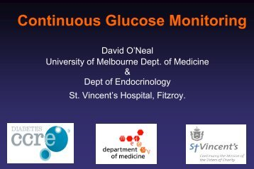 Continuous Glucose Monitoring