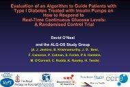 Download presentation - Diabetes CCRE