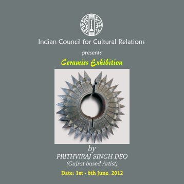 by PRITHVIRAJ SINGH DEO - Indian Council for Cultural Relations