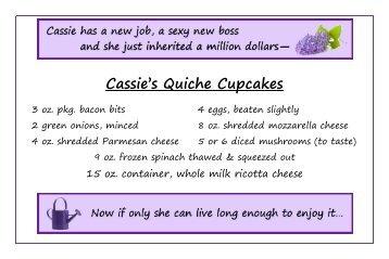 Cassie's Quiche Cupcakes