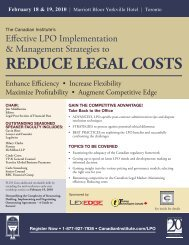 REDUCE LEGAL COSTS