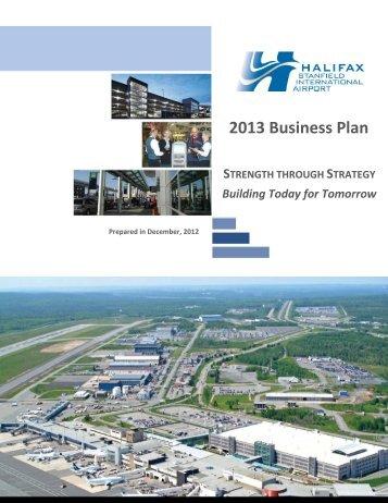 2013 Business Plan