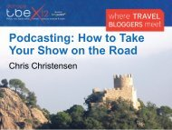Podcasting How to Take Your Show on the Road
