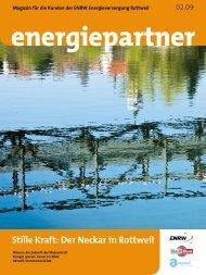 Stille Kraft: Der Neckar in Rottweil - ENRW Energieversorgung ...