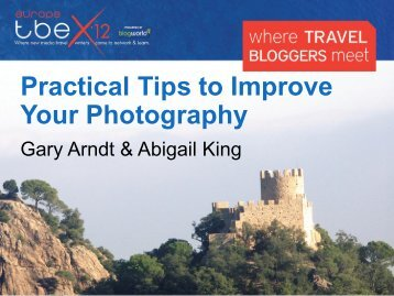 Practical Tips to Improve Your Photography