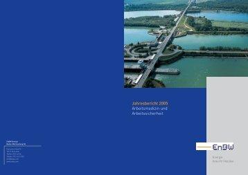 Jahresbericht 2005 Arbeitsmedizin und Arbeitssicherheit - EnBW