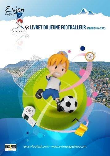 Livret du jeune footballeur