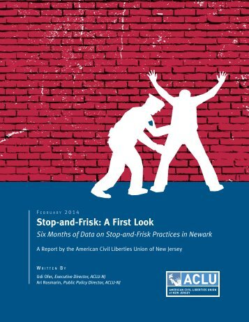 Stop-and-Frisk A First Look