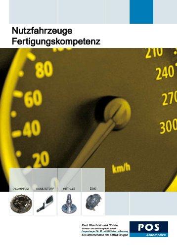 Nutzfahrzeuge Fertigungskompetenz - EMKA Beschlagteile