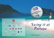 Swing it at Pattaya