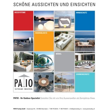 Sonnenschirme / -Segel - Patio Trading GmbH