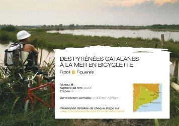 DES PYRÉNÉES CATALANES À LA MER EN BICYCLETTE