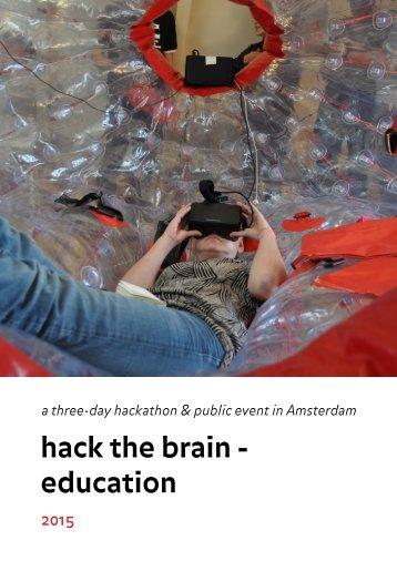 hack the brain - education