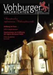Sternstunden auf unserem Weihnachtsmarkt - Stadt Vohburg