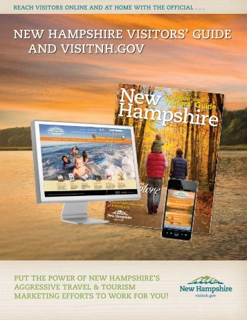 NEW HAMPSHIRE VISITORS' GUIDE AND VISITNH.GOV