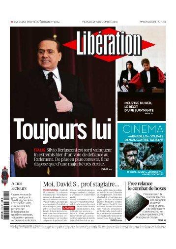 CINEMA - Libération